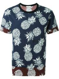 футболка с принтом ананасов  Valentino