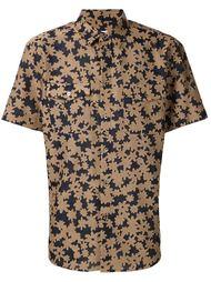 тканая рубашка с цветочным принтом Julien David