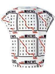 футболка без рукавов  J.W.Anderson
