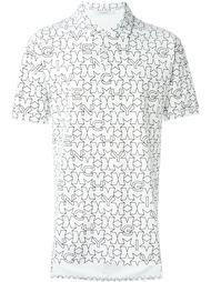 футболка-поло с принтом  Givenchy