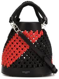 плетеная сумка-мешок на плечо Sonia Rykiel