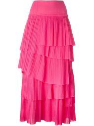 плиссированная многослойная юбка Sonia Rykiel