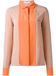 двухцветная рубашка  Stella McCartney