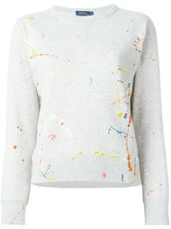 меланжевый свитер  Polo Ralph Lauren