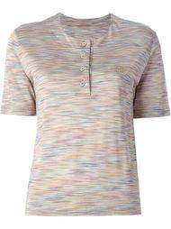 полосатая рубашка-поло Missoni Vintage
