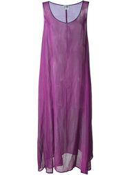 прозрачное платье без рукавов Gianfranco Ferre Vintage