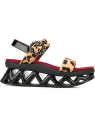 сандалии 'Ninja Strass Wave' Marc Jacobs