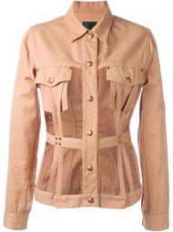 пиджак с вырезными панелями Junior Gaultier