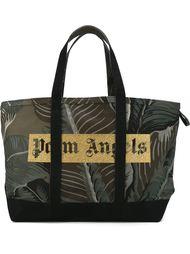 сумка-тоут с принтом логотипа Palm Angels