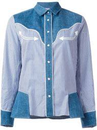 рубашка в стиле вестерн  Sacai