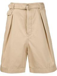 шорты со складками Sacai