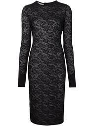 прозрачное платье с цветочным узором Stella McCartney