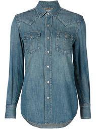 джинсовая рубашка в стиле вестерн Saint Laurent