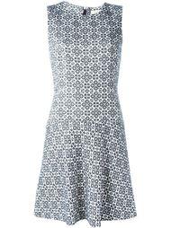 расклешенное жаккардовое платье  Tory Burch
