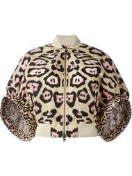 куртка-бомбер с пышными рукавами  Givenchy