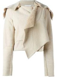 укороченная куртка с овчиной Helmut Lang Vintage