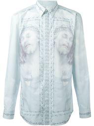 рубашка с принтом Christ Givenchy