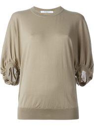 свитер с пышными рукавами Givenchy