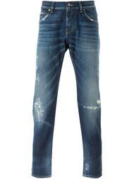 зауженные джинсы  Dolce & Gabbana