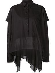 многослойная рубашка свободного кроя Maison Margiela