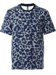 футболка с абстрактным принтом  Neil Barrett