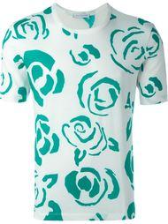футболка с цветочным принтом   J.W.Anderson