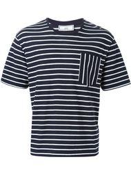 футболка в полоску Ami Alexandre Mattiussi