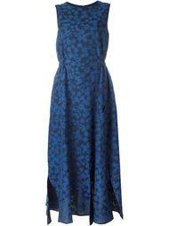 расклешенное платье с цветочным принтом  Julien David