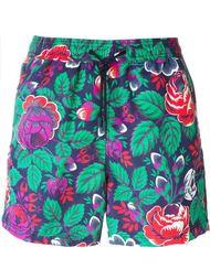 шорты для плавания с принтом роз Etro