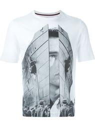 футболка с принтом-коллажем Antonio Marras