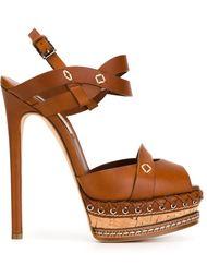 босоножки на высоком каблуке Casadei