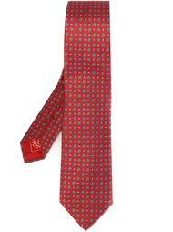 галстук с принтом Brioni