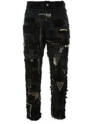 лоскутные джинсы кроя скинни  Heikki Salonen