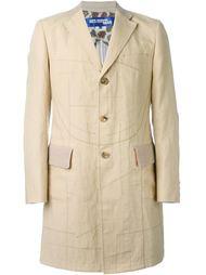 пальто с простроченной отделкой Junya Watanabe Comme Des Garçons Man