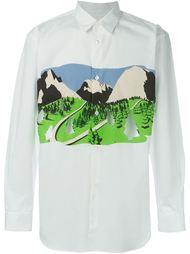 футболка с принтом  Comme Des Garçons Shirt