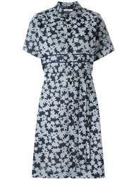 платье-рубашка с принтом  Julien David
