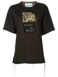 футболка в стиле пэчворк  Heikki Salonen