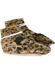 высокие слиперы с леопардовым принтом  Heikki Salonen
