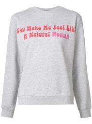 свитер с надписью Natasha Zinko