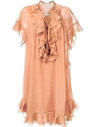 платье с рюшами Chloé
