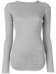 свитер в рубчик  Helmut Lang