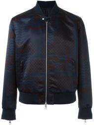 куртка-бомбер с принтом в стиле пэчворк  Neil Barrett