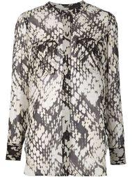 блузка с плетеным принтом Vince