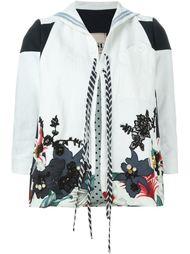 куртка с цветочной вышивкой Antonio Marras