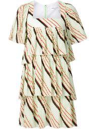 плиссированное мини-платье  Sonia Rykiel