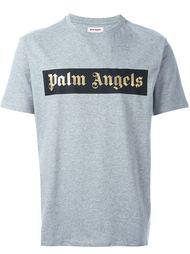 футболка с логотипом Palm Angels