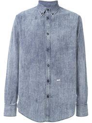 полосатая джинсовая рубашка Dsquared2