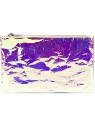 кошелек с блестящей отделкой на молнии Zilla