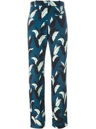брюки с лиственным принтом 'Penny' Wood Wood