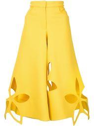 широкие брюки с цветочными элементами Rosie Assoulin